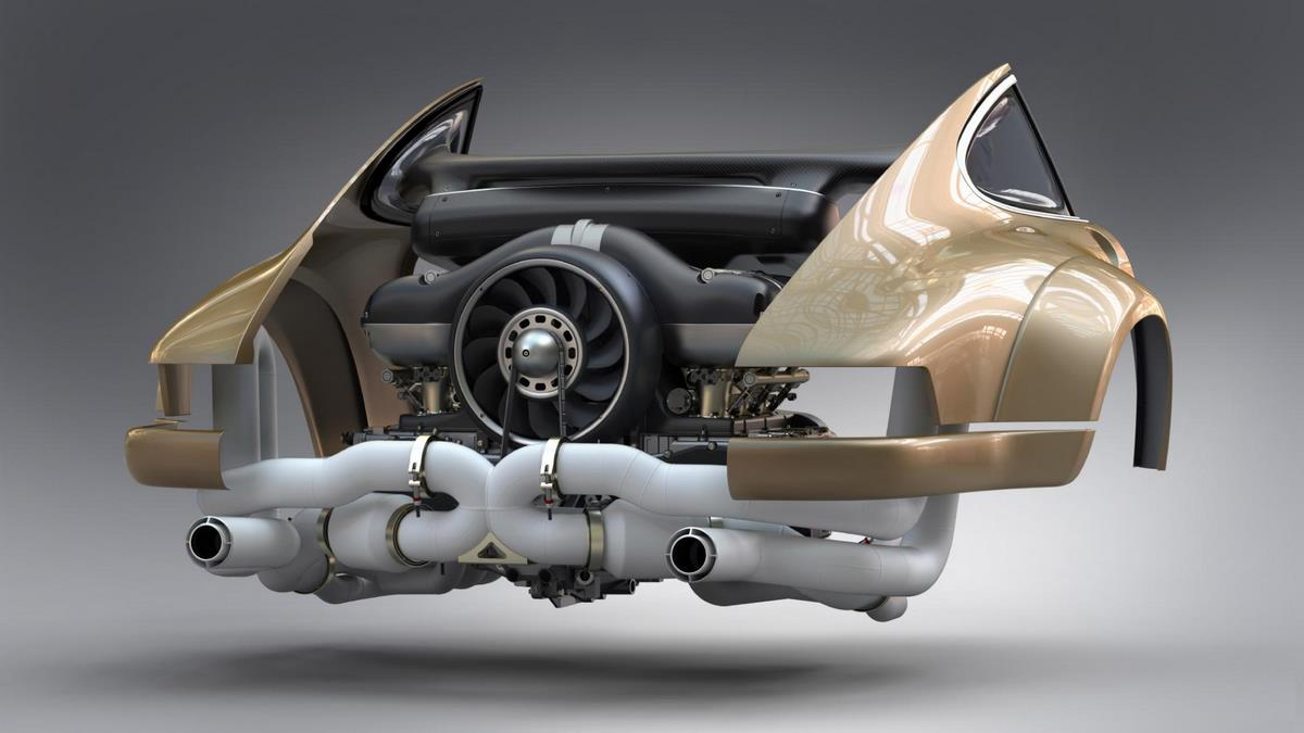 Singer s'associe à Williams Advanced Engineering pour développer un moteur 4.0 l Flat 6 refroidi à air de 500 ch pour 911