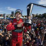 Le pilote Audi Lucas di Grassi est champion de Formule E