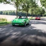 Des Porsche 911 3.0 Targa au Sachsen Classic 2017
