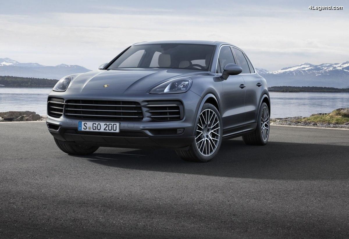 Nouveau Porsche Cayenne 2018 - Le plein de nouveautés technologiques