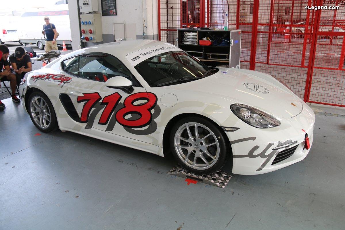 Porsche Days 2017 - Présentation de la Porsche 718 Sport Cup