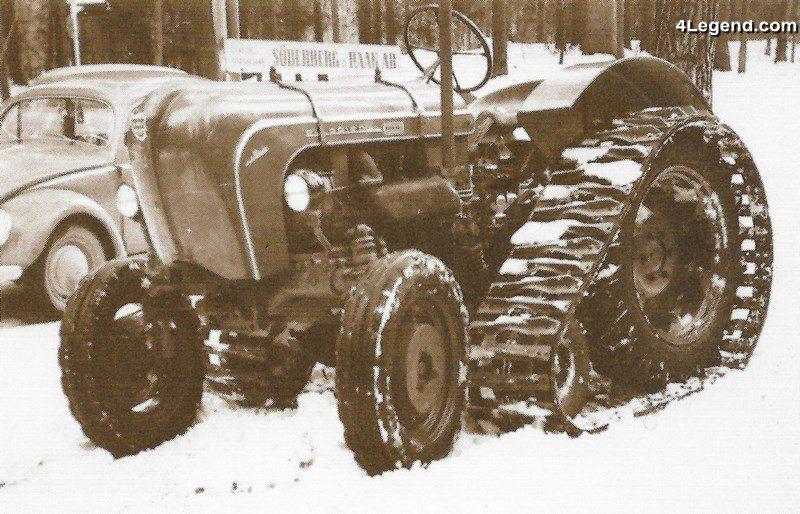 tracteur chenill porsche diesel super 308 r de 1960 histoire des tracteurs chenilles. Black Bedroom Furniture Sets. Home Design Ideas