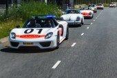 Histoire et rassemblement de Porsche 356, 911, 914 et 924 Rijkspolitie aux Pays-Bas