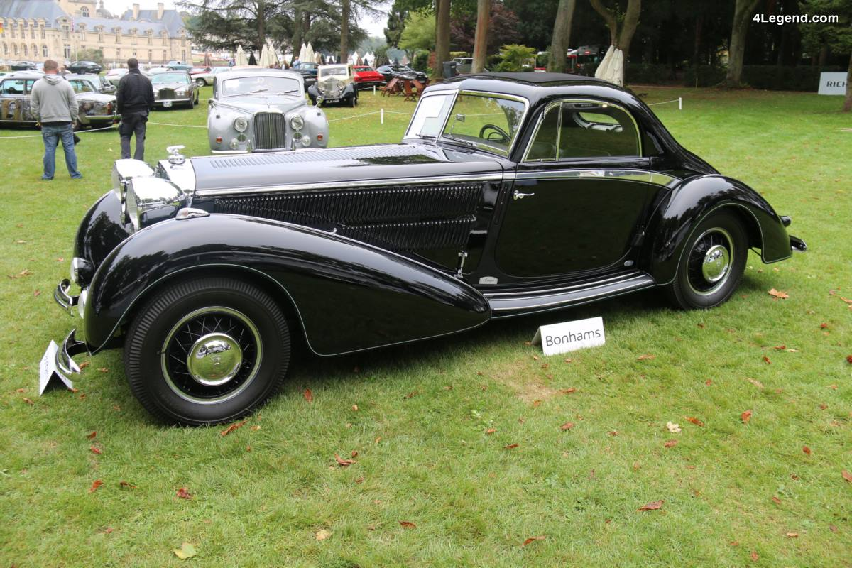 Chantilly 2017 - Horch 853 Coupé Manuela Replica de 1937