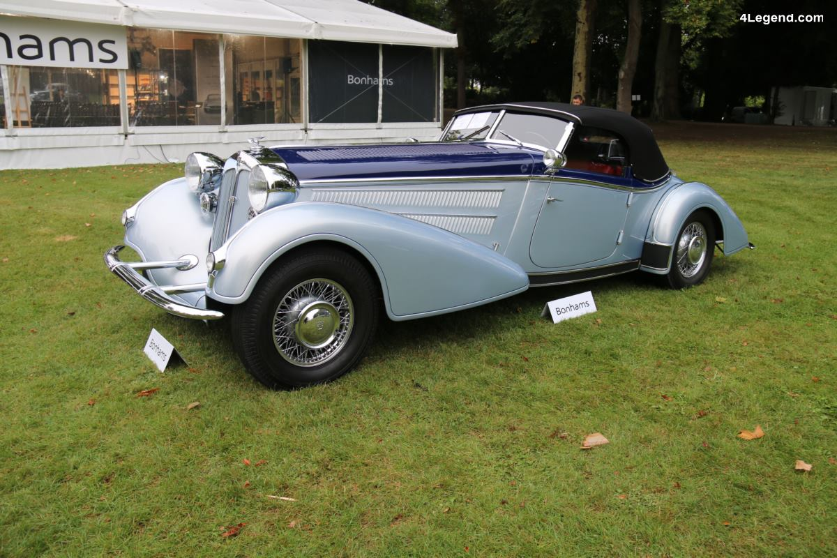 Chantilly 2017 - Horch 853 Spezialroadster Replica de 1936
