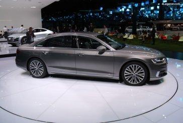 IAA 2017 - La nouvelle Audi A8 se dévoile au grand public