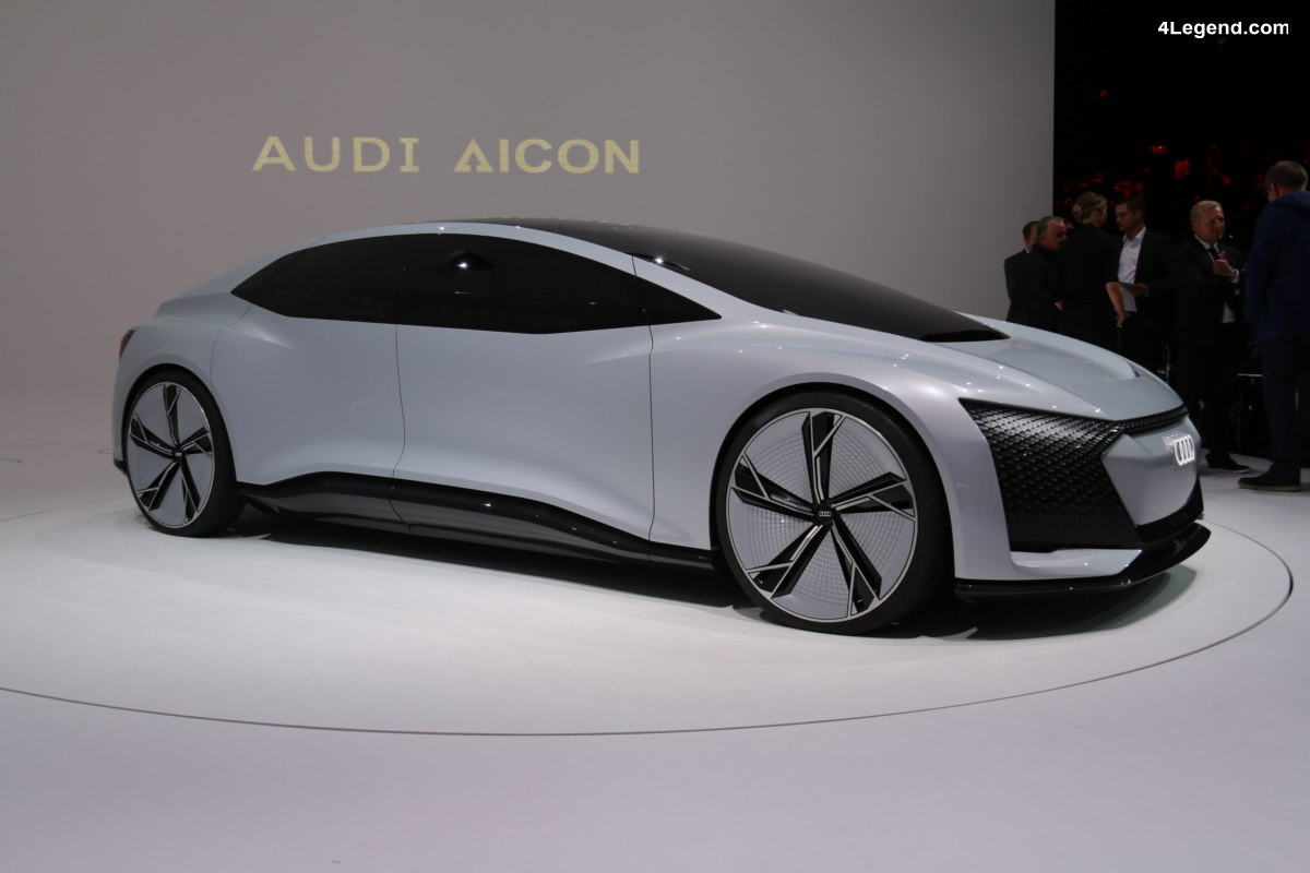 IAA 2017 - En immersion dans le concept car Audi AIcon préfigurant l'avenir de l'automobile