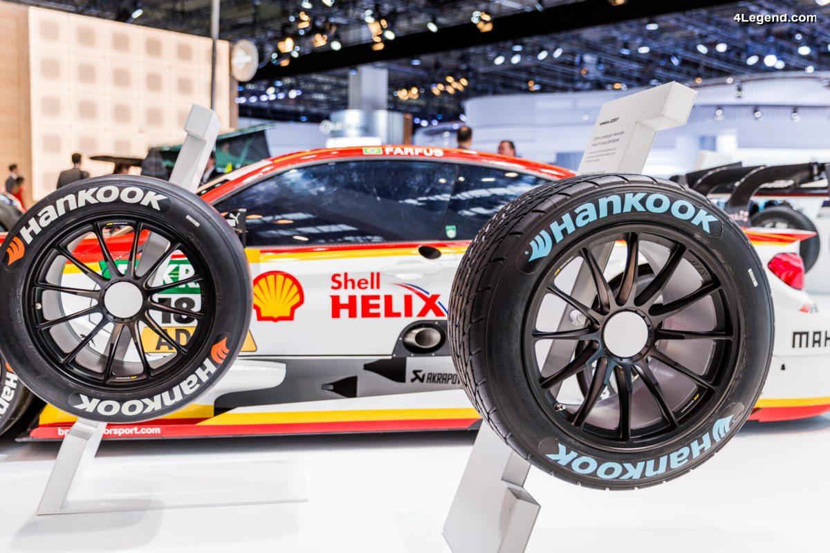 IAA 2017 - Une nouvelle génération de pneus de course Hankook pour la saison 2017 du DTM