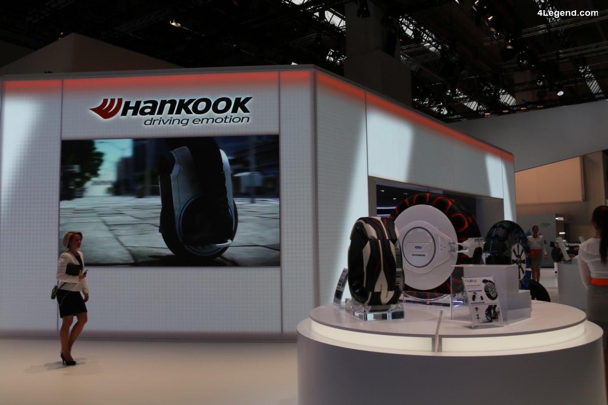 IAA 2017 - Hankook Tire a présenté 5 nouveaux concepts de pneus futuristes