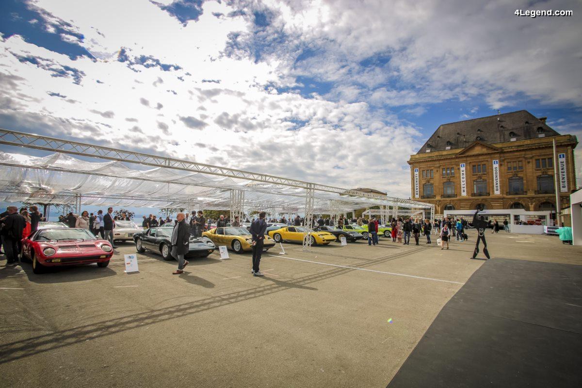 Lamborghini a organisé son premier Concours d'Élégance à Neuchâtel (Suisse), rendant hommage à l'architecte Le Corbusier