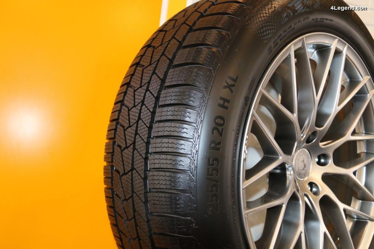IAA 2017 - Nouveau pneu hiver sportif Continental WinterContact TS 860 S