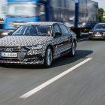 Pilote automatique Audi AI traffic jam – La conduite autonome franchit une nouvelle étape sur l'Audi A8