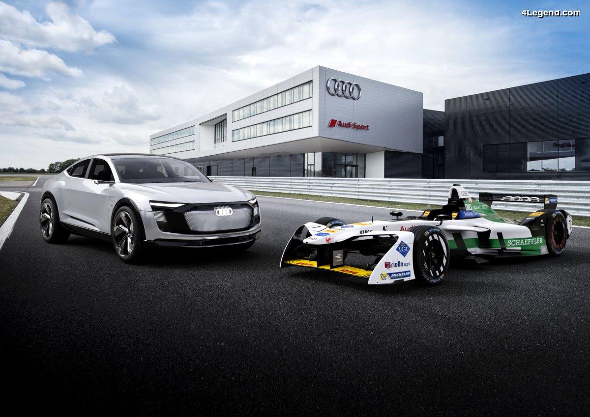 Nouvelle Audi e-tron FE04 pour courir en Formule E - La nouvelle voiture de sport électrique