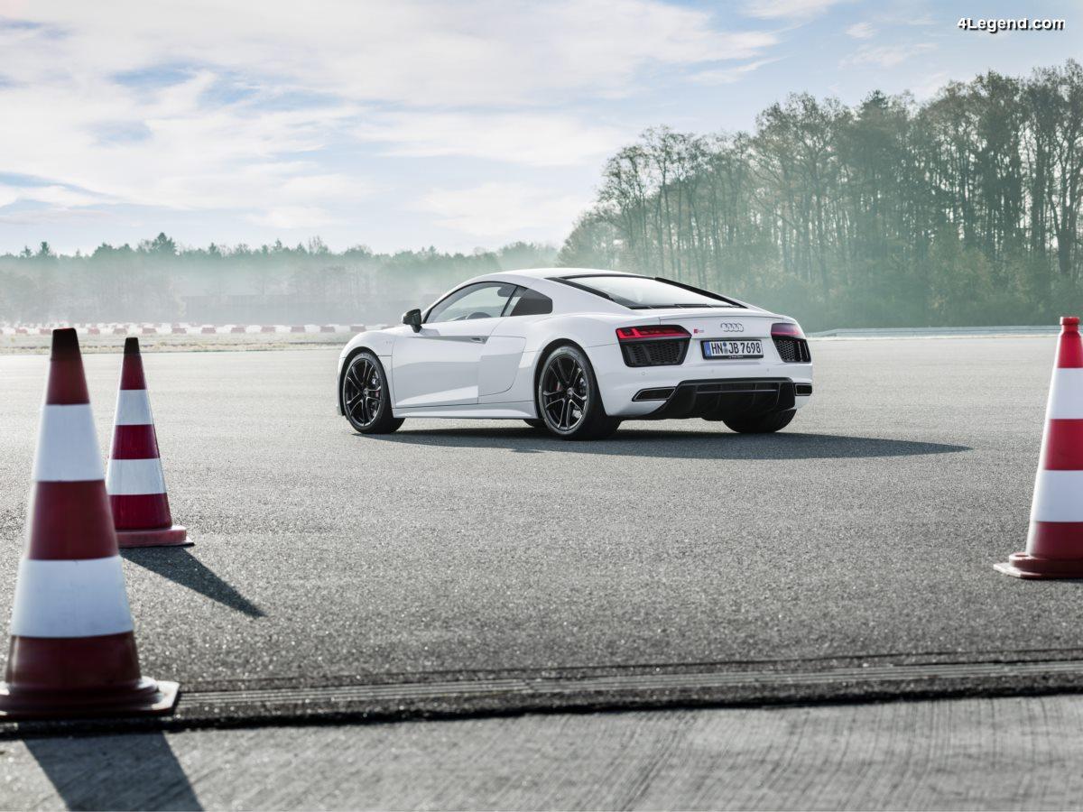 Nouvelle Audi R8 V10 RWS - Premier modèle Audi de série à propulsion limité à 999 exemplaires