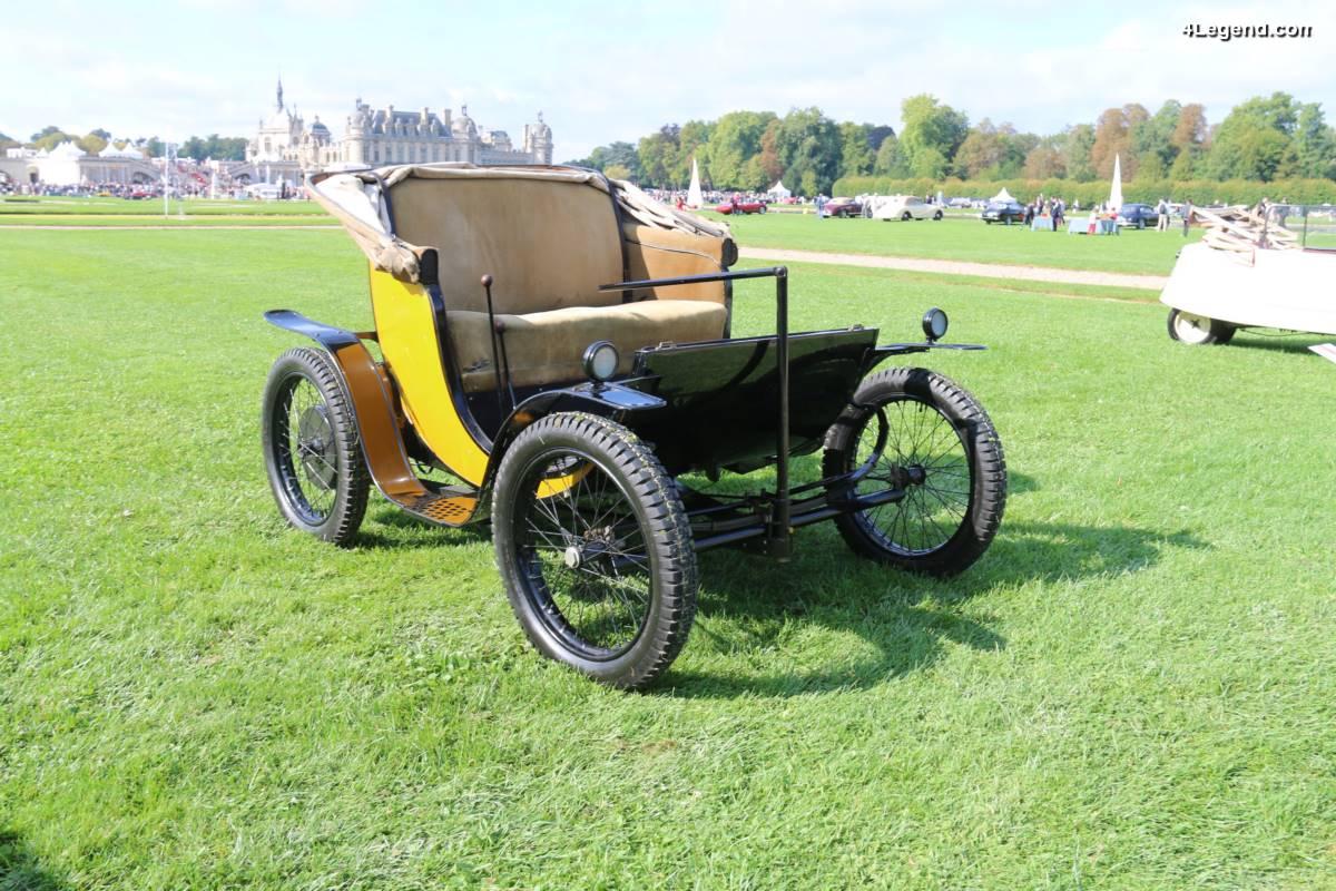 Chantilly 2017 - Bugatti Type 56 électrique de 1931