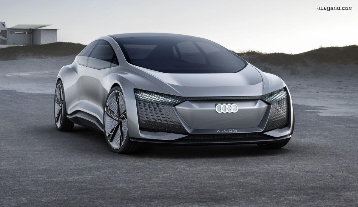 Concept car Audi AIcon - La voiture autonome du futur