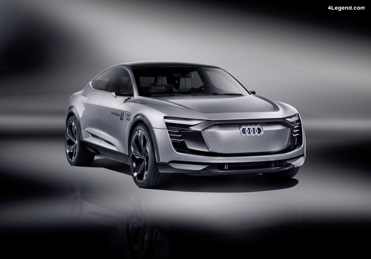 Concept car Audi Elaine - Une conduite automatisée de niveau 4