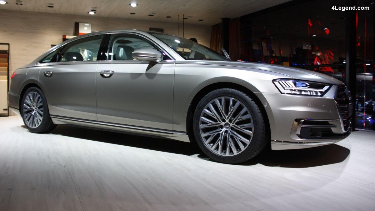 Rumeur d'une berline Audi A8 ultra luxueuse avec le label Horch pour concurrencer Maybach