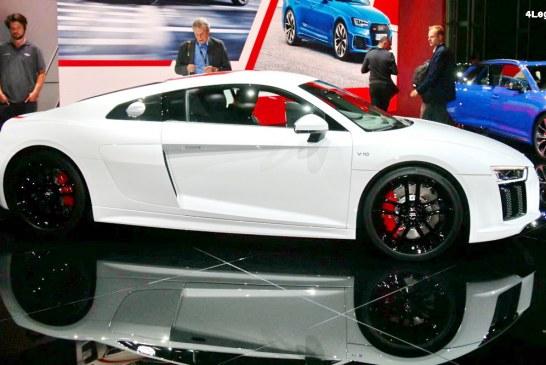 IAA 2017 – Audi R8 V10 RWS : 999 exemplaires et un tempérament joueur