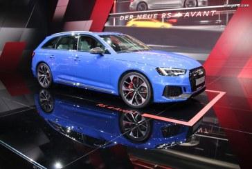 IAA 2017 – Audi RS 4 Avant bleu Nogaro : pas assez agressive