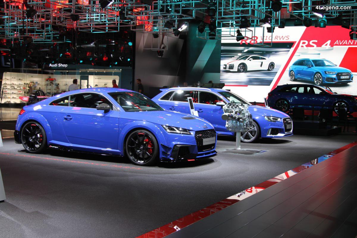 IAA 2017 - Audi TT RS Coupé avec des pièces Audi Sport Performance Parts