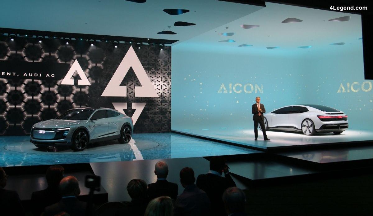 IAA 2017 - Best of Audi de la 1ère journée presse