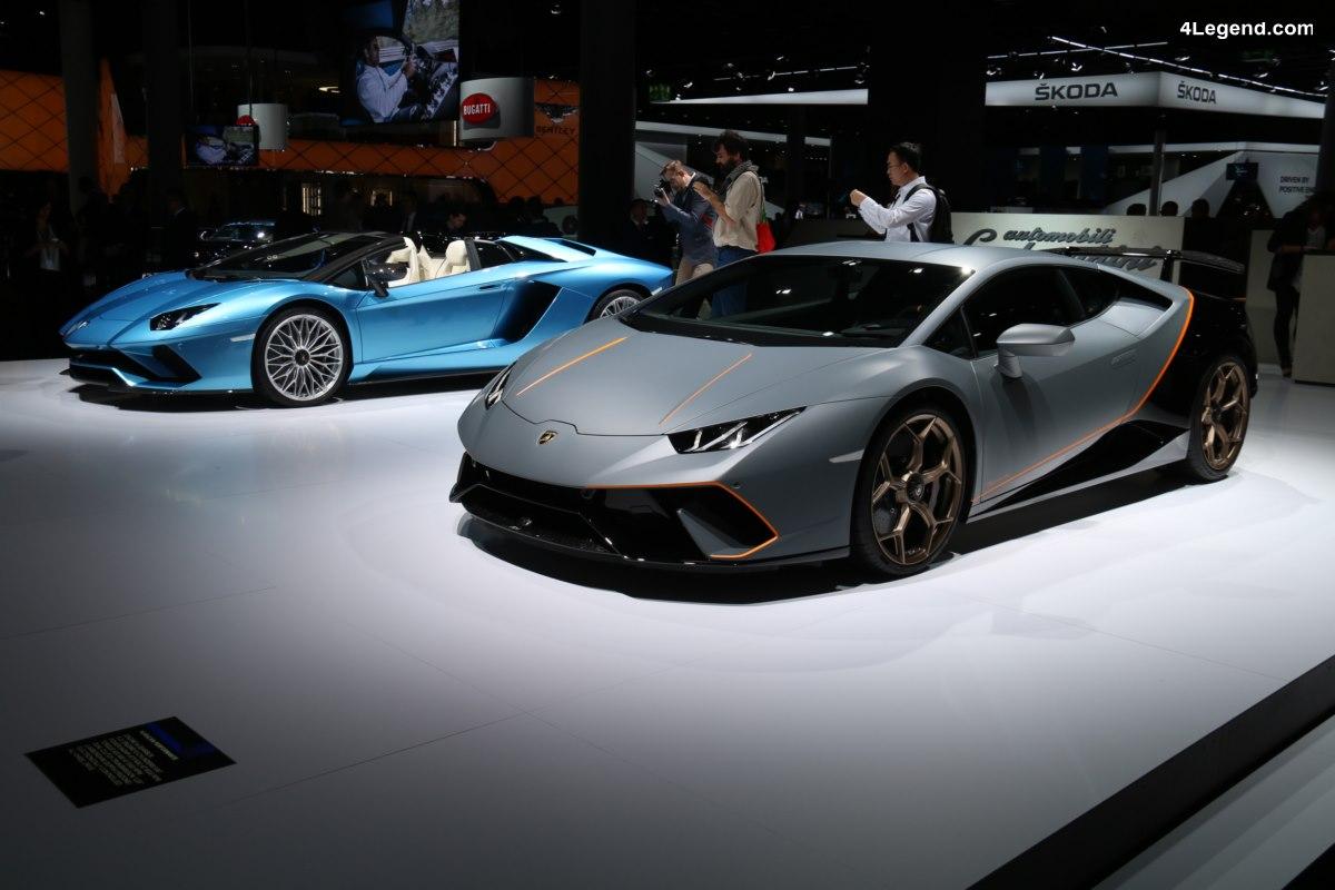 IAA 2017 – Best of Lamborghini de la 1ère journée presse