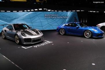 IAA 2017 – Best of Porsche de la 1ère journée presse