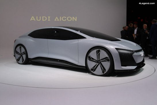 IAA 2017 – En immersion dans le concept car Audi AIcon préfigurant l'avenir de l'automobile