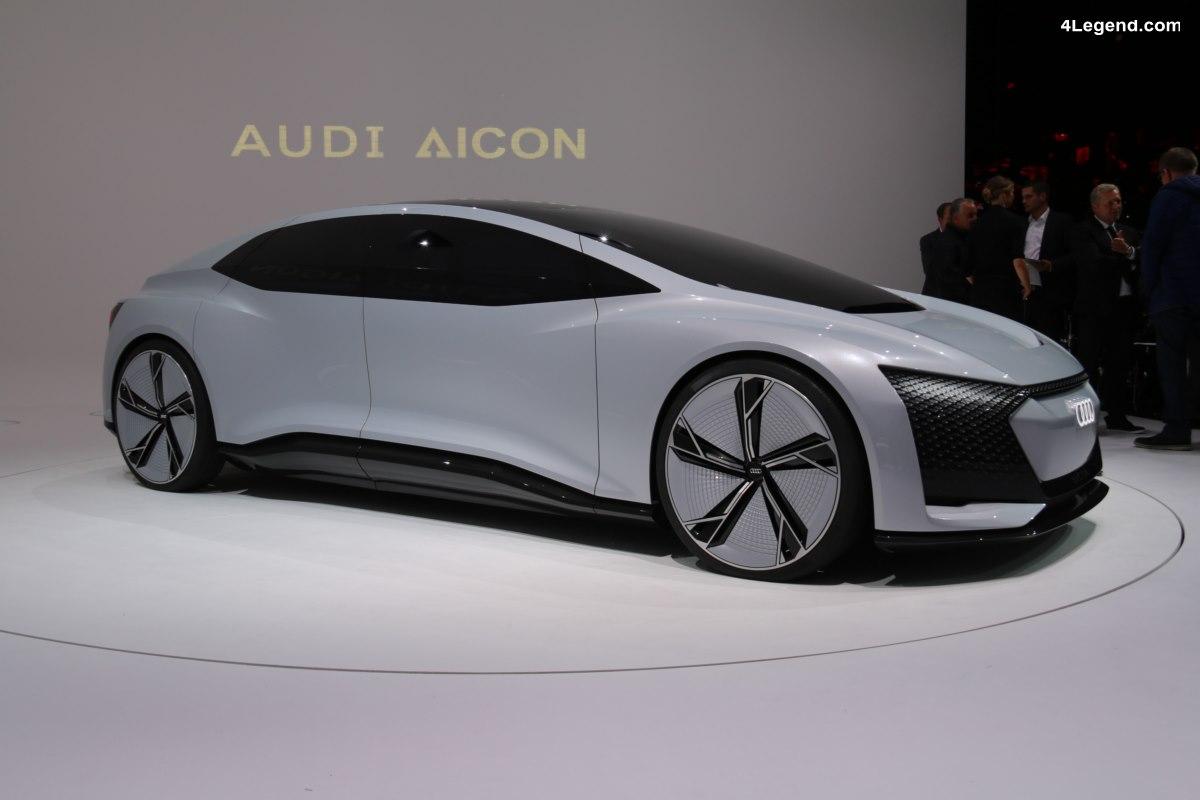 IAA 2017 - En immersion dans le concept car Audi AIcon préfigurant l'avenir de l'automobile