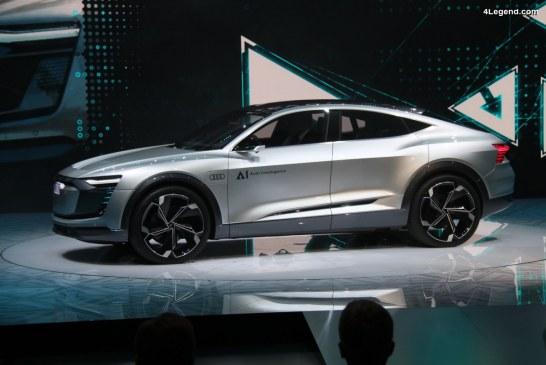 IAA 2017 – Le concept car Audi Elaine dévoile la prochaine conduite autonome de niveau 4