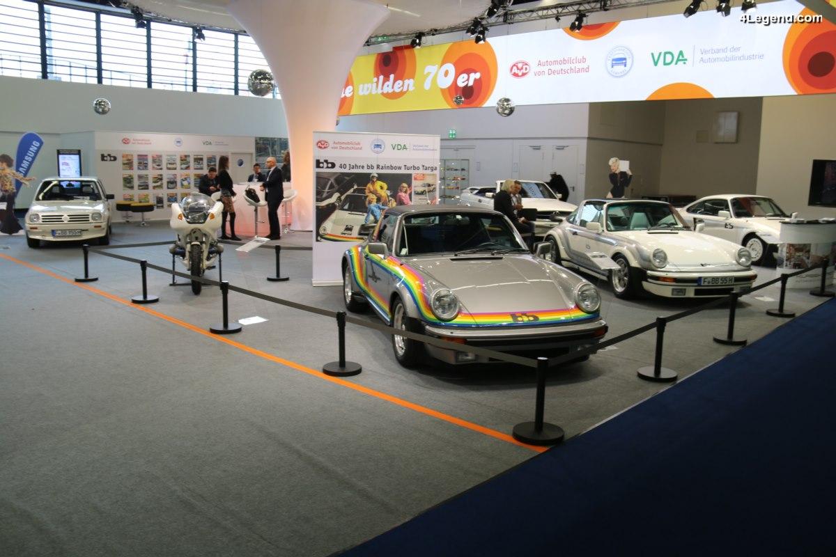 IAA 2017 - Exposition de Porsche 911 Turbo préparées par bb - Rainer Buchmann