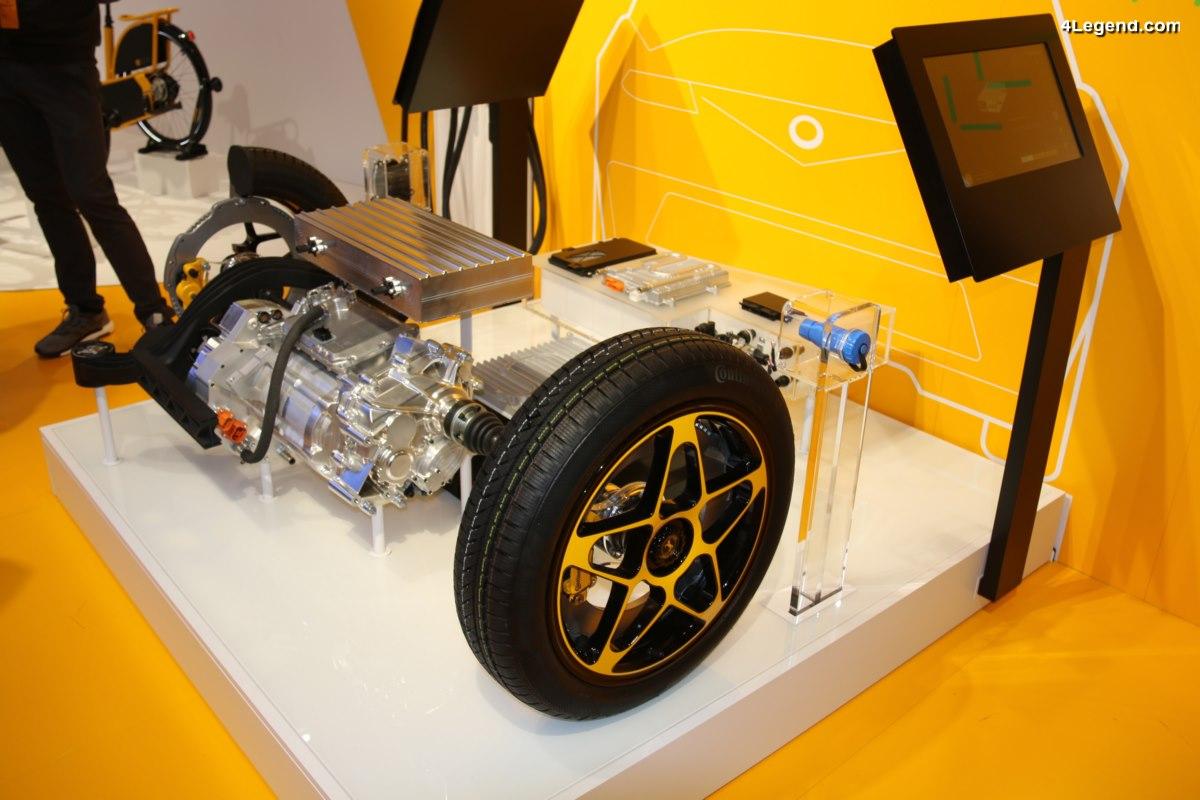 IAA 2017 - Continental dévoile un nouveau concept de roue avec frein intégré pour les véhicules électriques