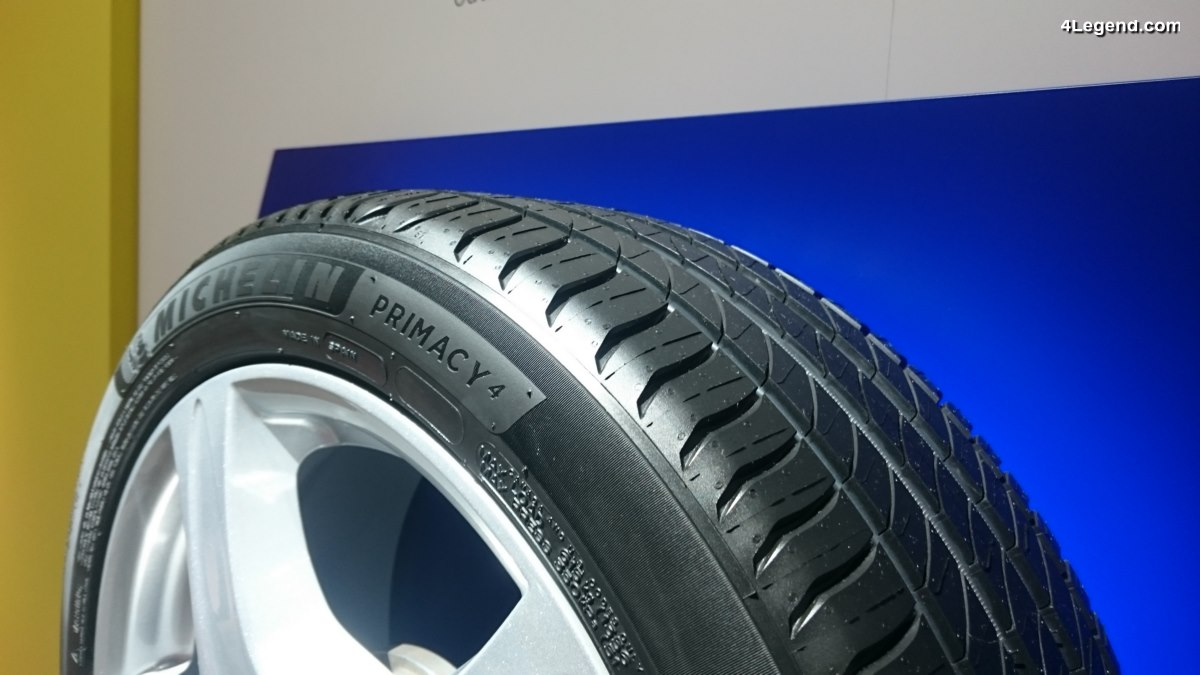 Iaa 2017 Nouveau Pneu Michelin Primacy 4 Performance