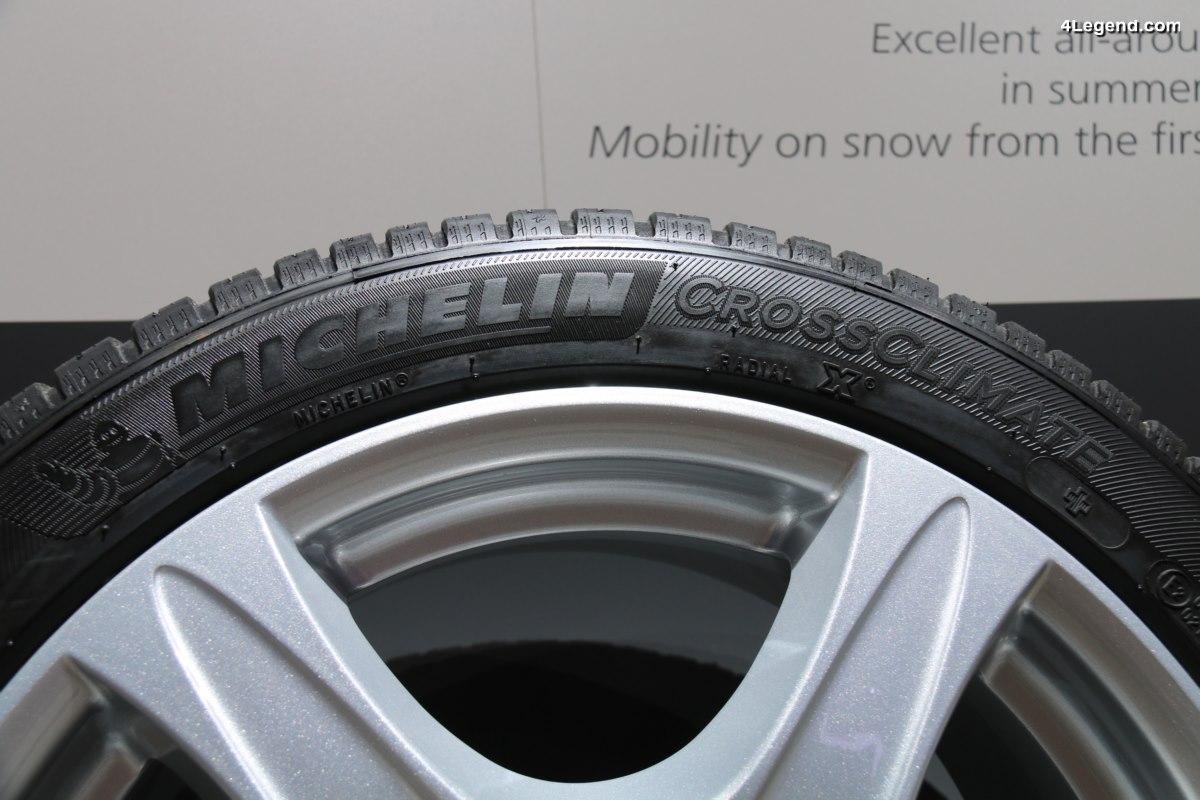 IAA 2017 - La famille CrossClimate s'agrandit avec les pneus Michelin CrossClimate+ et Michelin CrossClimate SUV