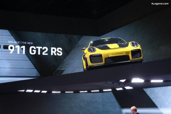 Porsche souhaite lutter contre les spéculateurs via des modèles en leasing