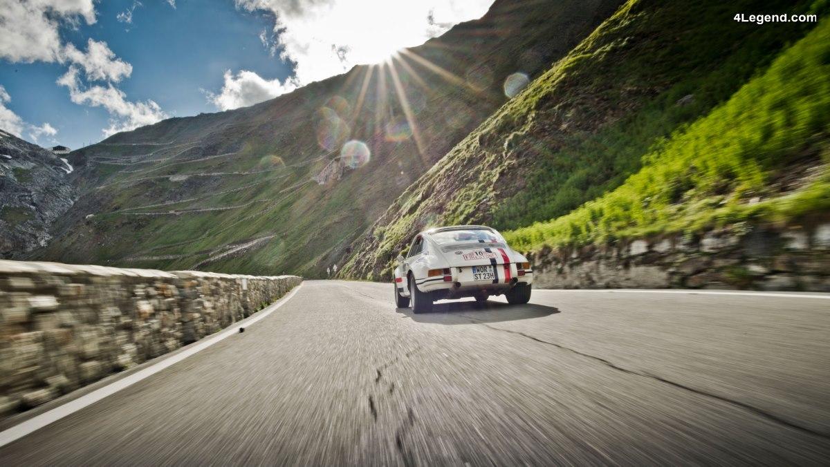 Porsche Drive - Stelvio : un nouveau livre sur la conduite de modèles Porsche sur la route du col de Stelvio
