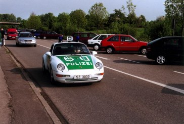 Porsche 911 Carrera Coupé Polizei Type 993 de 1996 – La millionième Porsche produite