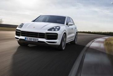 Nouveau Porsche Cayenne Turbo – 550 ch, une aérodynamique active et des freins hautes performances
