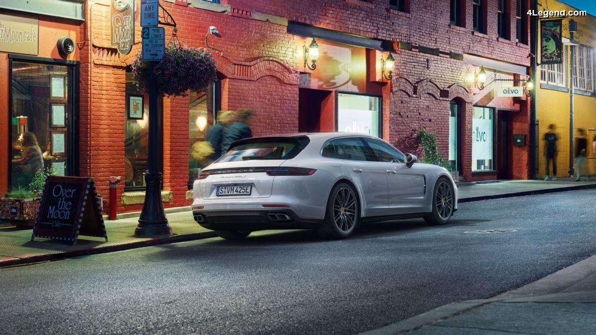 Porsche Panamera Turbo S E-Hybrid Sport Turismo - La Sport Turismo la plus puissante avec 680 ch