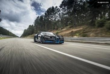 Nouveau record du monde établi par la Bugatti Chiron: 0-400-0 km/h en 42 secondes