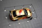 La 100ième Audi RS3 LMS à l'Audi Forum de Neckarsulm.