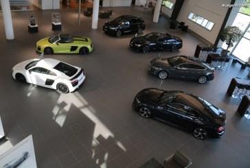 Forte croissance des ventes Audi en Chine en août 2017