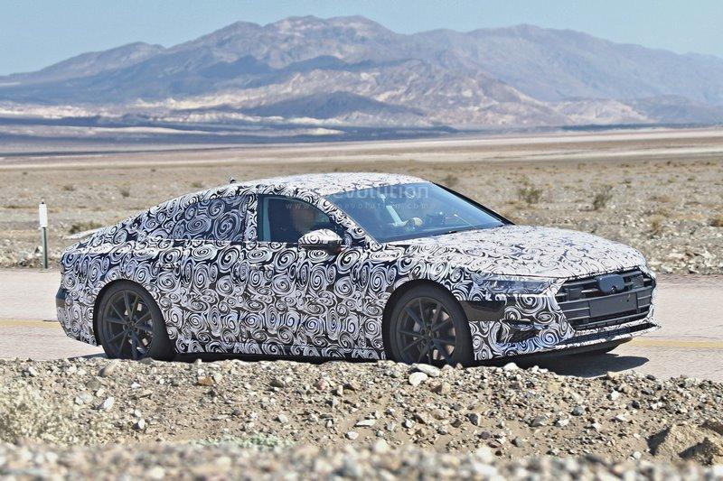 Premières photos de la nouvelle Audi A7 Sportback