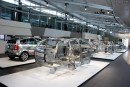 Audi Forum Neckarsulm: exposition body structure ASF.