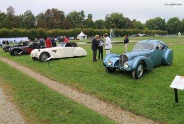 Chantilly 2017 – Exposition exceptionnelle de 4 Bugatti Type 57 S dont une Atlantic