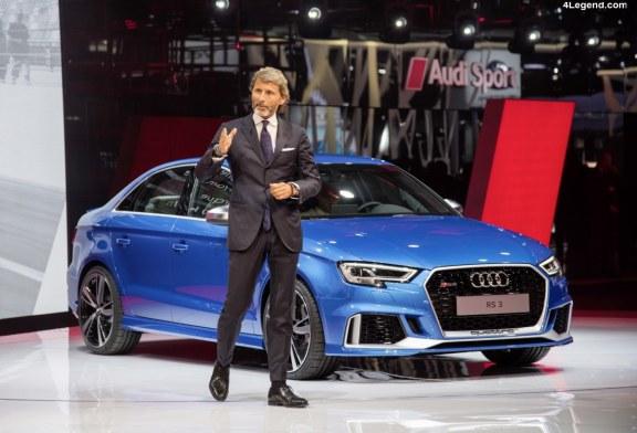 Départ de Stephan Winkelmann d'Audi Sport pour Bugatti
