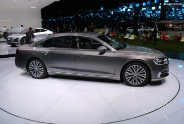 IAA 2017 – La nouvelle Audi A8 se dévoile au grand public