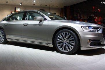 IAA 2017 – Une version exclusive de l'Audi A8 L dans le lounge Audi exclusive