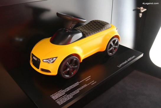 IAA 2017 – Audi Junior quattro jaune Vegas : une édition limitée de 600 exemplaires